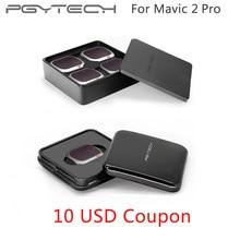 PGYTECH Mavic 2 Pro UV CPL ND4 ND64 фильтр Расширенный Комплект фильтров для объектива камеры ND набор фильтров для DJI Mavic 2 Pro ND 8 16 32 64 PL