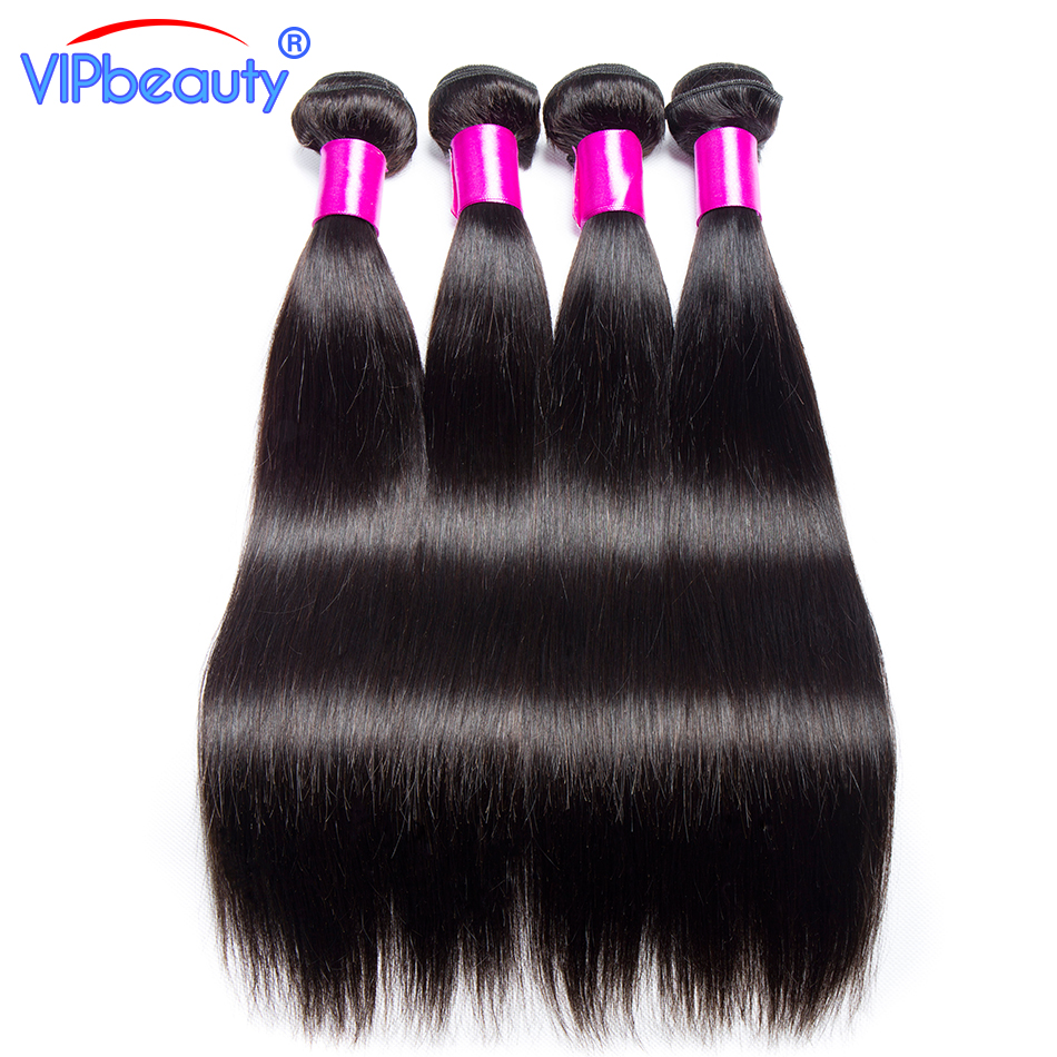 Brazilian straight human hair bundles VIP beauty non remy human hair extension 3 bundles 10-24inch free shipping