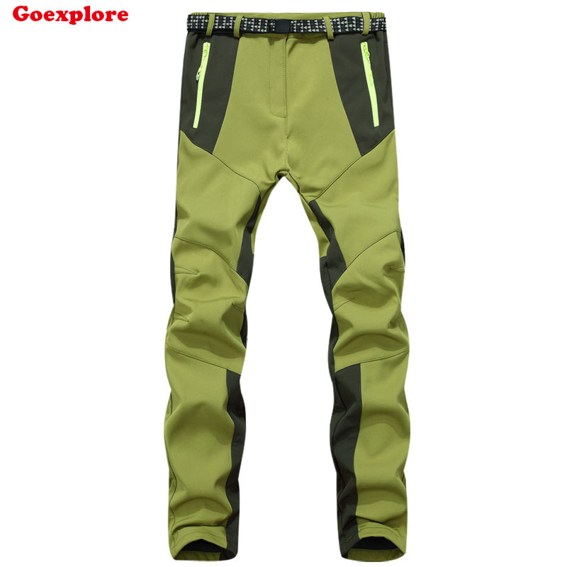 Dropshipping 2016 winter women's outdoor sports pants waterproof windproof hiking camping mountaineering soft shell pants dropshipping new brand outdoor sports waterproof breathable hiking camping sport waterproof snowboarding pants for women