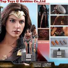 цена Hot Toys MMS451 Justice League  1/6th scale Wonder Woman (Deluxe Version) Collectible Figure full set for collecion онлайн в 2017 году