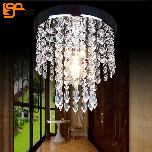 online shop goedkope prijs hal crystal led kroonluchter