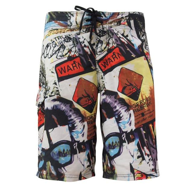 Модные популярные модные мужские Шорты Летний стиль Quick dry Пляжные шорты пляжные шорты мужские короткие Мужские Шорты для купания Бермуды