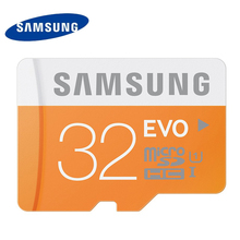 Samsung tarjeta de memoria de 32 gb tarjeta sd micro evo uhs-1 de tarjetas de memoria flash card microsd para tablet smartphone envío gratis