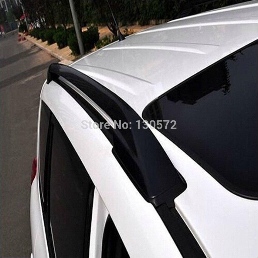 Fit voor 2006-2012 Toyota Rav4 Rav 4 Auto Imperiaal Rails Bars Zwart 2006 2007 2008 2009 2010 2011 2012 Snelle snelheid 7