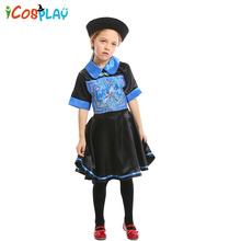 2019 new childlike zombie role-playing suit Childrens stage drama costume parent-child