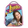 Soja Luna Regalos Mochila Pequeña Escuela Infantil Bolsas Boy Girls Pink Cartoon Kindergarten Bolsa Mochila Para Adolescentes Chicas