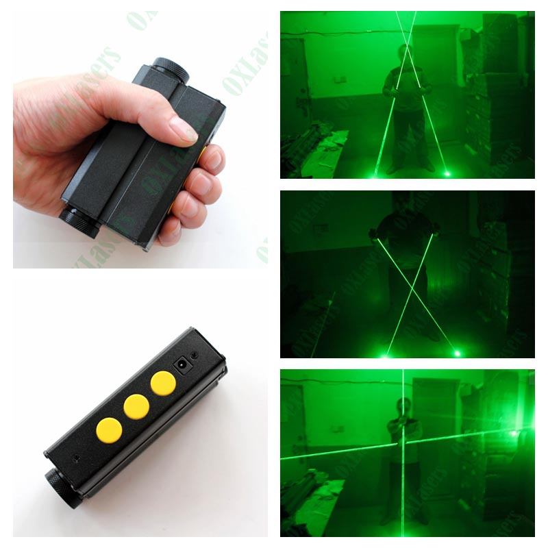 OXLasers NEW dual head green laser pointer green laser sword for dj party club laser show