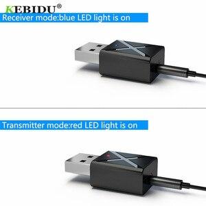 Image 3 - KEBIDU receptor USB con transmisor Bluetooth 5,0, adaptador inalámbrico de Audio, música, estéreo, Dongle para TV, PC, audífonos con Altavoz Bluetooth