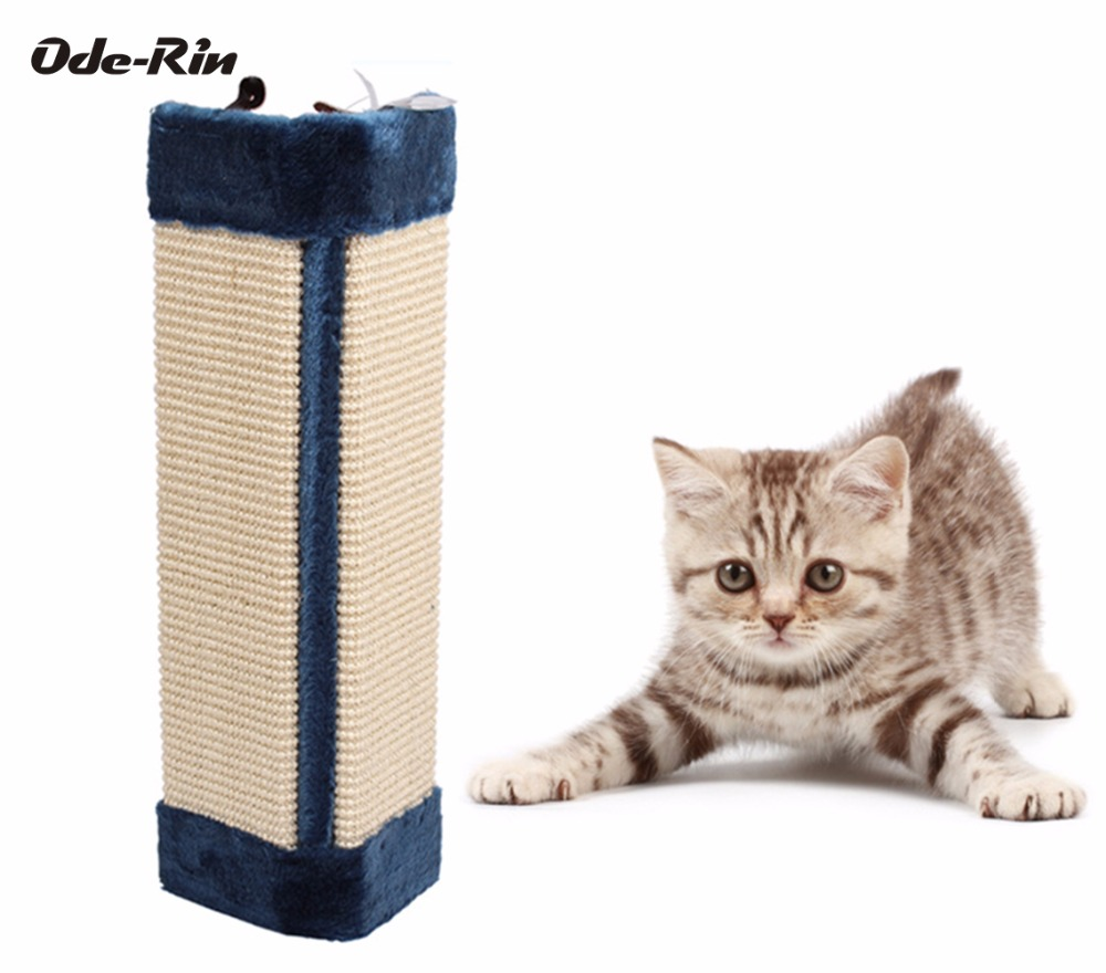 oderin sword hemp rope plush cat scratch board to make the cat toy cat scratching post durable sofa soft - Cat Scratching Post