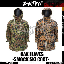 HIGH-END ENGRAVED WW2 MILITARY ARMY OAK LEAVES REVERSIBLE SMOCK SKI COAT DE/505136