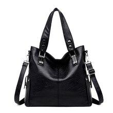 2019 New Brand Womens Handbag Luxury Leather Bag for Women Shoulder Genuine Sheepskin Tote Bags Crossbody
