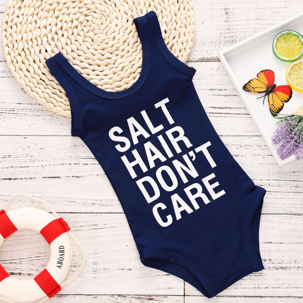 On Sale 2018 Summer Romper Toddler Jumpsuit Baby Toddler Infant Bathing Suit Girl Clothes 2 Years Girls Outfits Baby Onesie