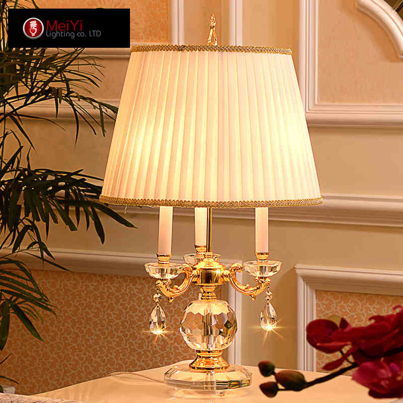 Chandelier Lamp Bedroom: Online Buy Wholesale Crystal Lamp Table From China Crystal
