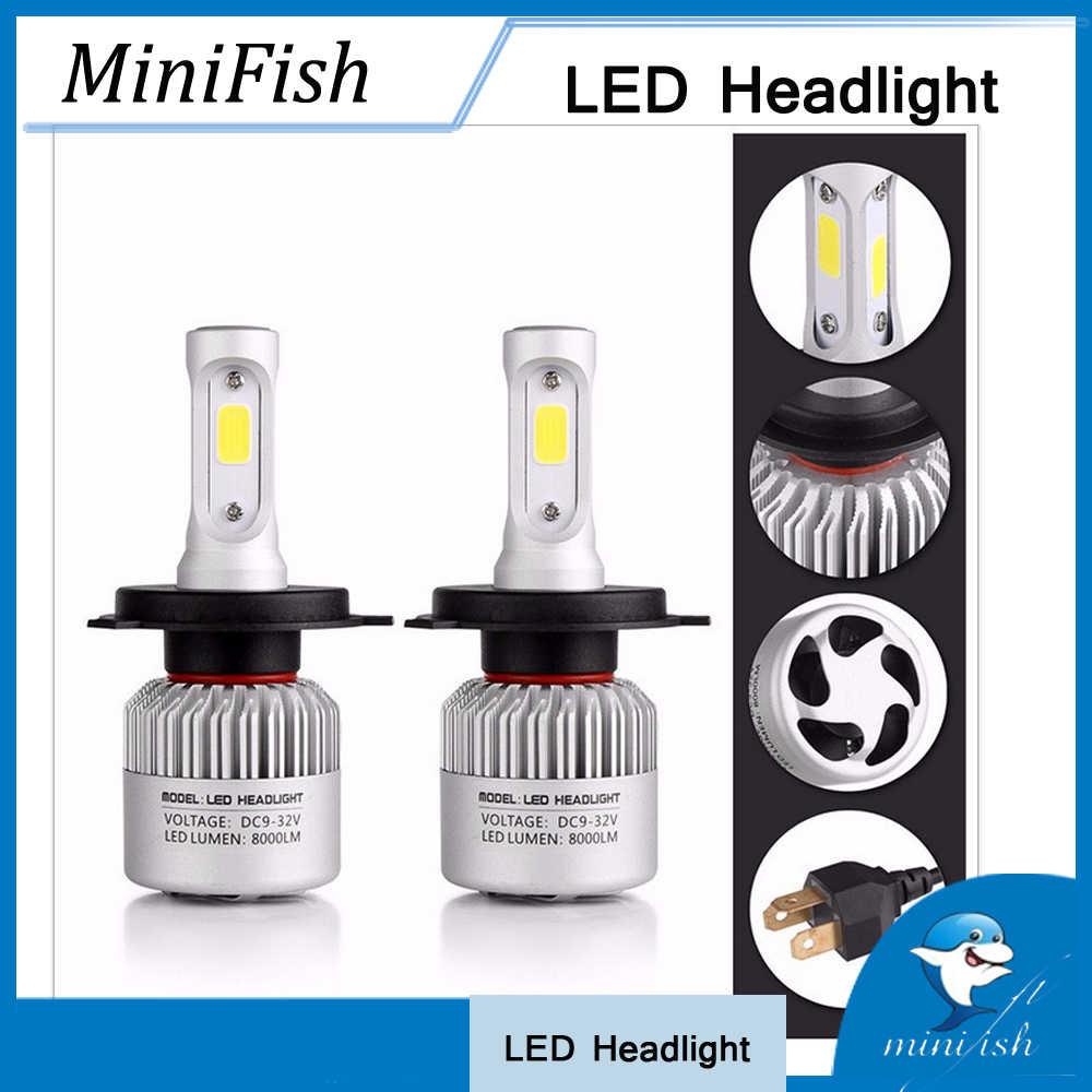 Супер яркий дальнего света лампы H1 H3 H4 H7 H8 H9 H11 H13 9004 9005 9006 9007 9008 9012 880 881 HB1 HB2 HB4 HB5 Автомобильный светодиодный фары