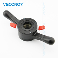 VECONOR Fast Locking Nut Quick Nut Wing Nut For Car Wheel Balancer Shaft Size 36mm Thread