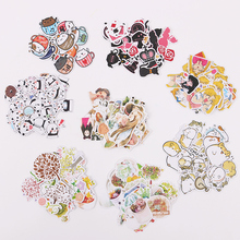 hot deal buy 3 sets cute cartoon korean style decorative stickers adhesive stickers scrapbooking diy decoration diary stickers