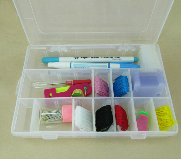 24 compartments cross stitch organizer box , thread floss bobbin boxes box.jpg
