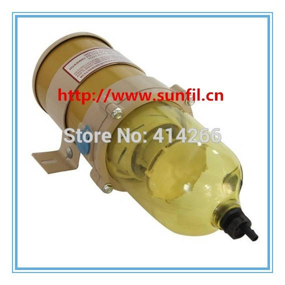 Wholesale 900FG heating diesel engine Fuel Water Separator Assembly include 2040PM ,free shipping