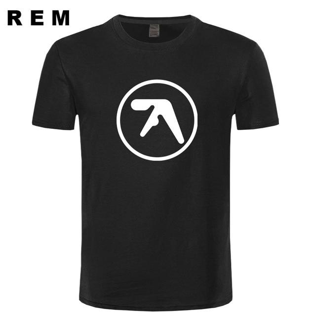 Fashion Men Aphex twin T Shirt Popular Aerosmith t shirt Printing ...