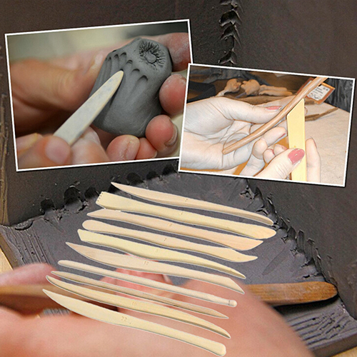 New arrival! 10 Pieces ABS Shaping Clay Sculpture Pottery Play Dough Carving Modeling Tools