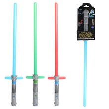 Cross-shaped Star Wars Lightsaber Sword With LED & sound Light saber Action Figure Toys Green/Blue/Red Children's Day Gife