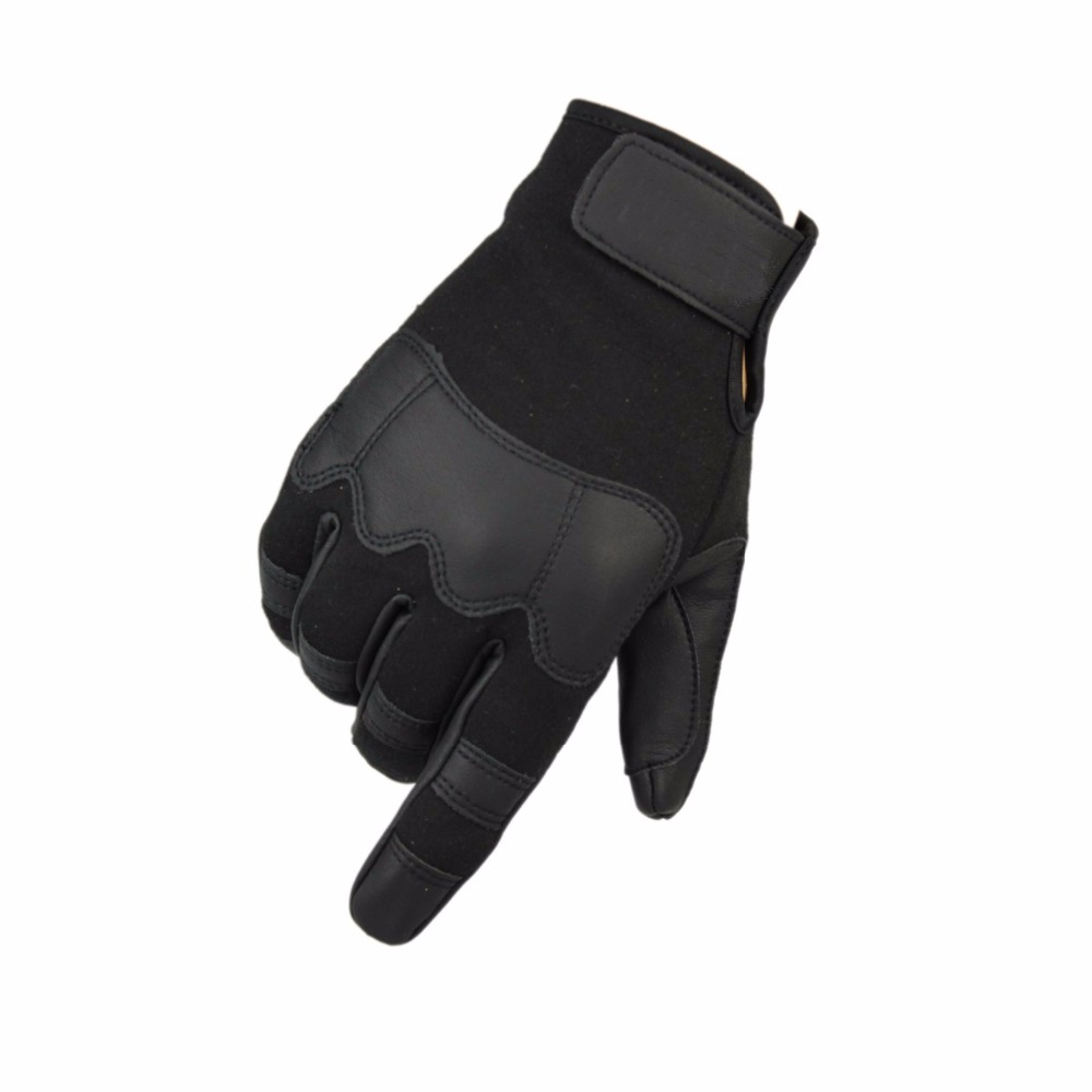 Fingerless impact gloves - Guantes Gym For Fitness Men Sports Tactical Gloves Full Finger Army Climbing Bicycle Tactical Military Fingerless Gloves