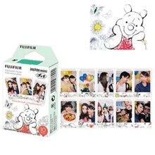 לפוג י Fujifilm Instax מיני 8 סרט פו דוב 10pcs מיידי נייר צילום עבור Fujifilm מיני 11 7s 25 50s 90 מצלמה SP 1 SP 2