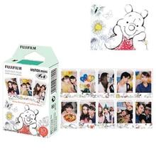 Per Fuji Fujifilm Instax Mini 8 Pellicola Winnie Orso 10pcs Carta Fotografica Istantanea per Fujifilm Mini 11 7s 25 50s 90 Fotocamera SP 1 SP 2