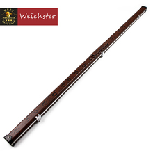 Weichster One 1 Piece Snooker Pool Cue Case Slimline Aluminium Case Holds 1 Cue