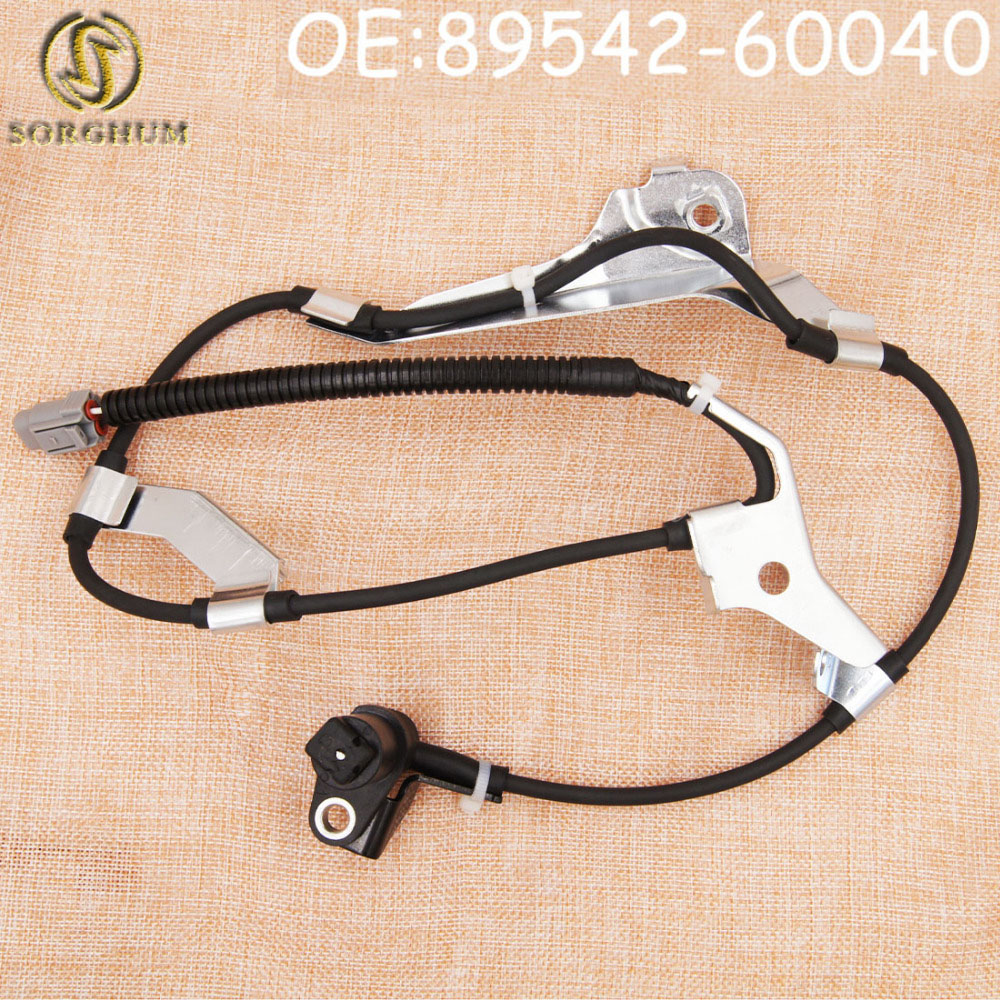 New Front Right Side ABS Sensor Wheel Speed Sensor 89542-60040 For Toyota LAND CRUISER 100 1998-2007 For LEXUS LX470 1998-2007