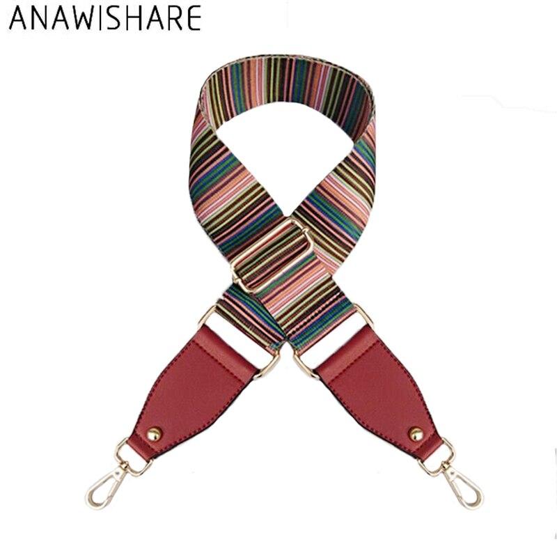 ANAWISHARE Belt For Handbags Strap Wide Shoulder Bag Strap Replacement Flower Handbag Strap Accessory Bags Parts Adjustable Belt belt