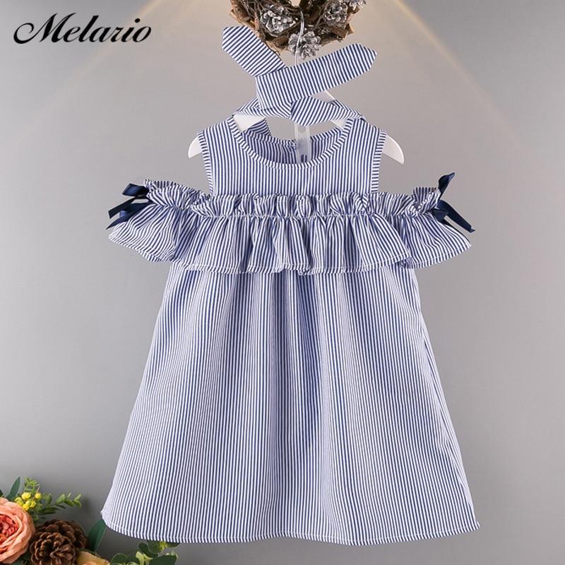 Melario Girls Dresses 2018 Fashion Kids Girls Dress cartoon Long sleeve princess dress fashion kids dresses childrens clothing