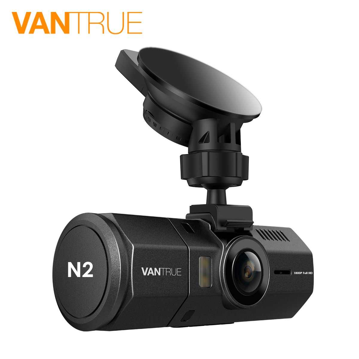 "Vantrue N2 Dash Camera Dual Lens Uber Car DVR Cam 1.5"" LCD 1080P Video Register Recorder with G-Sensor Parking Mode Night Vision"