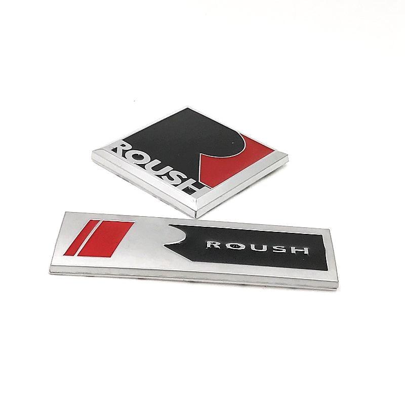 Metal Alloy Roush Car Sticker Emblem Badge Logo