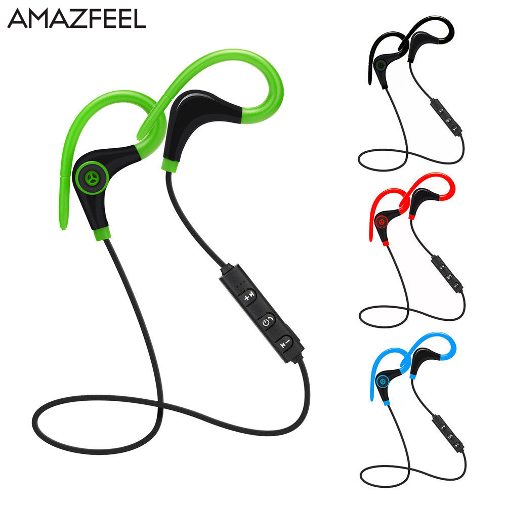 Wireless Bluetooth V4.1 Earphone Headphone Headset Outdoor Sport Fitness Earbuds With Microphone For Phone 6 6s 7plus Xiaomi sport running bluetooth earphone for nokia 3120 classic wireless earbuds headsets with microphone