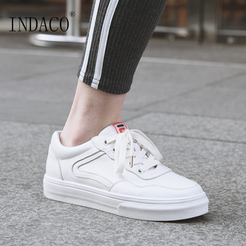 Sneakers Women 2019 Fashion Shoes Woman Designer White Casual Shoes Women Leather 2.5cm