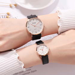 2018 fashion high quality minimalist watches leather strap wrist watches for women quartz ultra-thin couple watch women watches