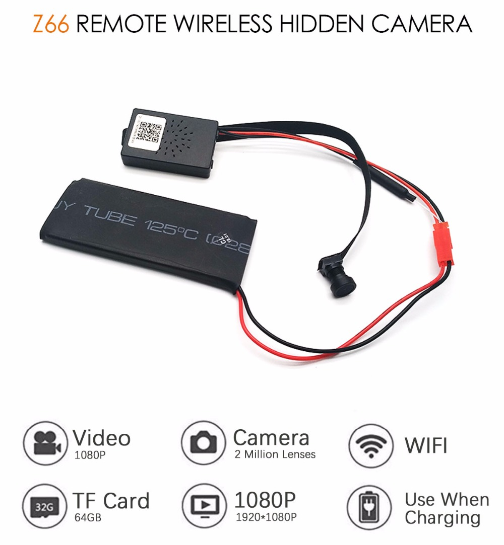 HD 1080P Wide Angle WIFI Mini Camera And Webcam With Motion Activated DV Camcorder 1