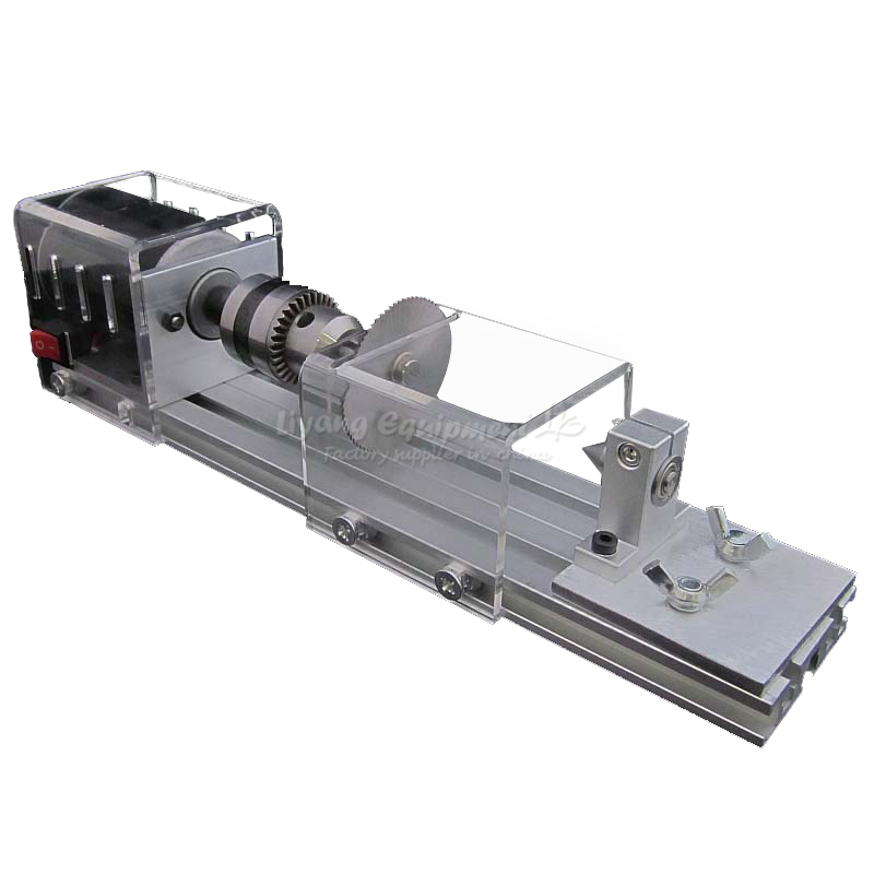 Micro beads machine DIY MINI Lathe C00109 adjustable double bearing live revolving centre diy for mini lathe machine