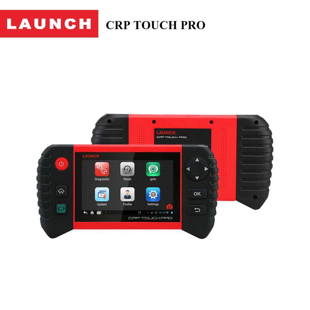 Launch Official Store CRP Touch Pro 5 inches Android Auto Full System Diagnostic Scanner Tool for auto repair Car-detector original new launch m diag read dtc s clear dtc s full system diagnostic tool m diag repair tool for car shop and car owner