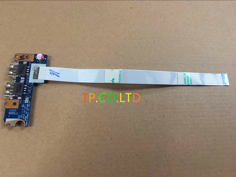 Genuine New Original USB Port Board With Cable For ACER E1-571 E1-531 E1-521 E1-571G E1-531G E1-521G Series LS-7911P wzsm brand new lcd flex video cable for acer e1 e1 521 e1 531 e1 571 v3 571 gateway nv53 nv55 nv56 laptop cable p n dc02001fo10