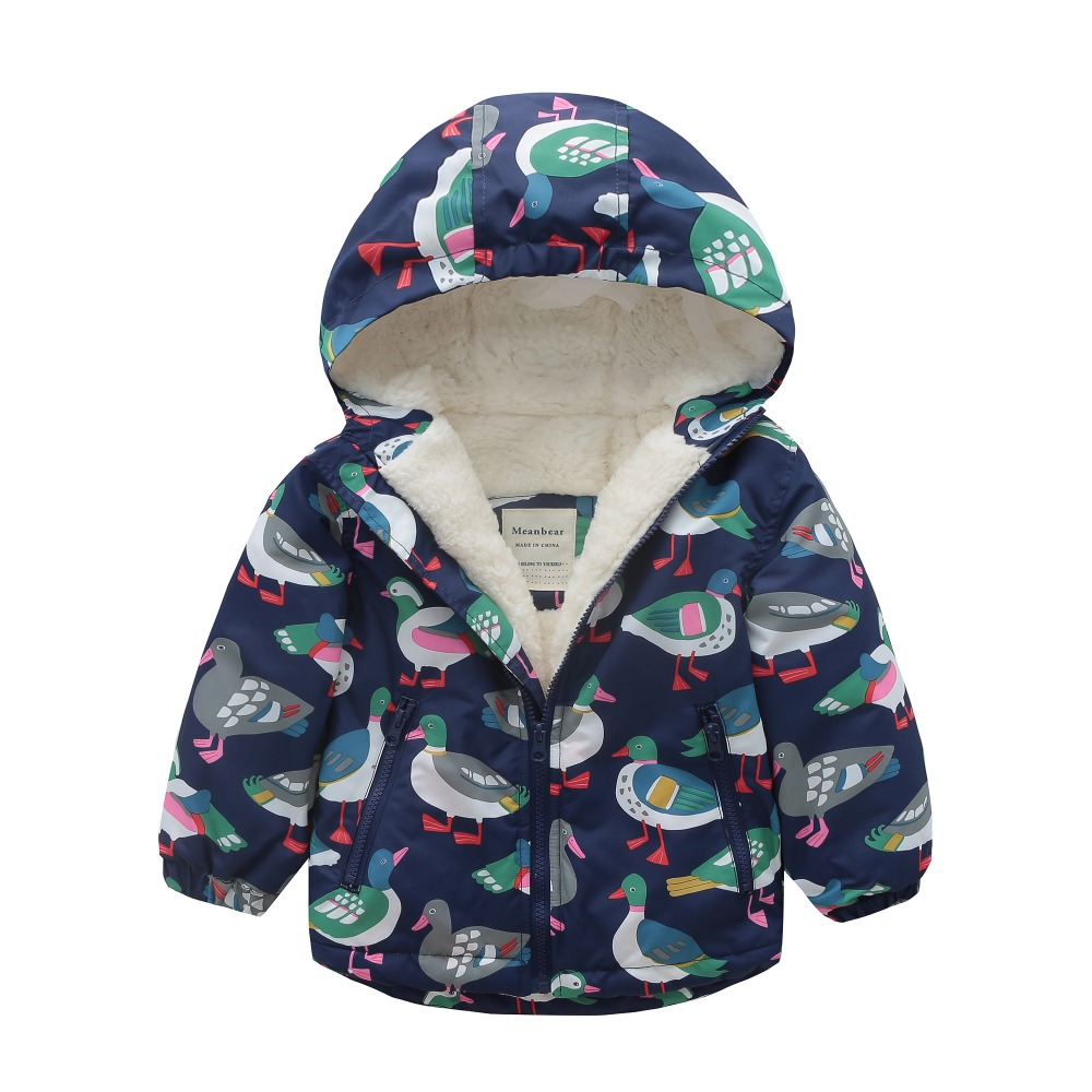 M124 Spring Autumn Outwear Fashion duck Printing Hoodies Child Winter Thicken Padded Jacket Kids Tops Boy&Girls Keep Warm Coat M124 Spring Autumn Outwear Fashion duck Printing Hoodies Child Winter Thicken Padded Jacket Kids Tops Boy&Girls Keep Warm Coat