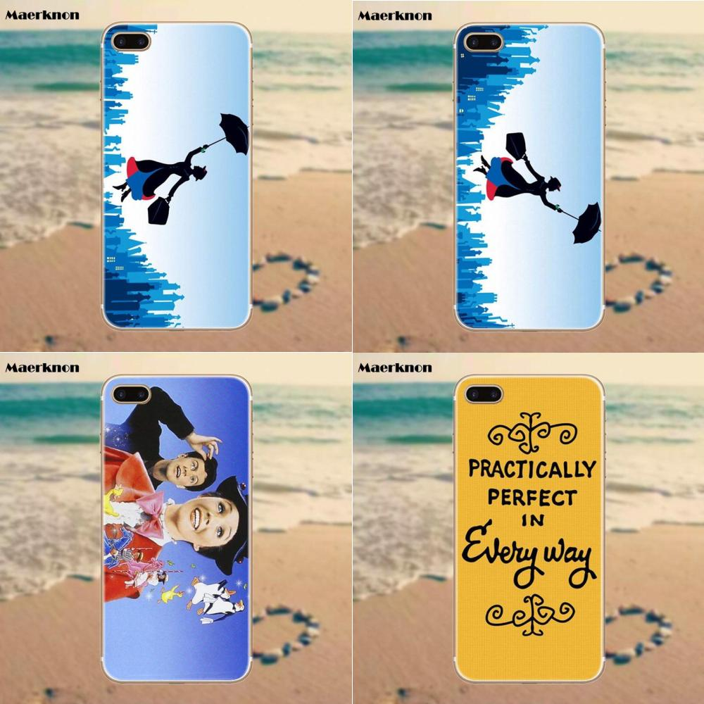 Cellphones & Telecommunications Phone Bags & Cases Careful Cover Silicone Case For Samsung Galaxy A6 A8 A9 A7 A5 A3 Plus 2018 2017 2016 2015 A6s Star Umbrella Mary Poppins