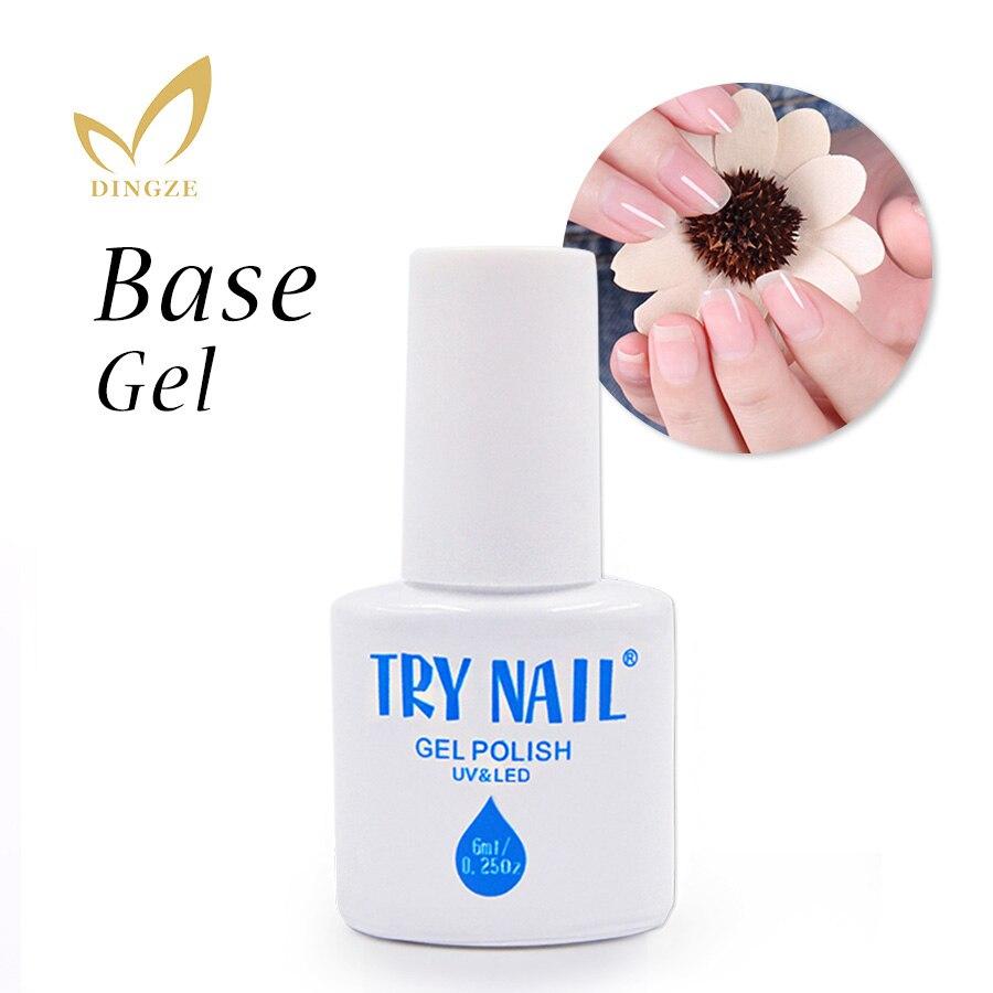 TRY NAIL Base Gel Top Coat Nail Polish Grass Green Easy Soak Off Long-lasting Gel Polish 151 Colors Summer Gel Nail Art(01-31)