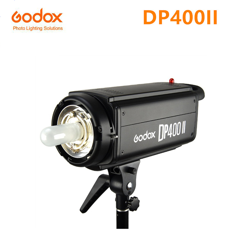 NEW Godox DP 400II 400WS Pro Photography Strobe Flash Studio Light Lamp Head 110V 220V Wireless