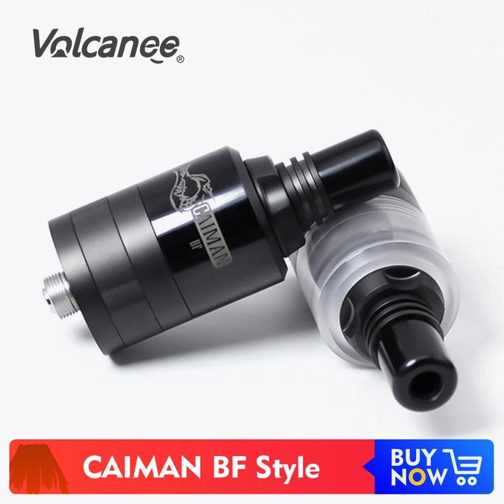 Volcanee SXK Caiman BF Style MTL RTA 22mm réservoir dégoulinant reconstructible VS roi RDTA eCig Vape atomiseur vaporisateur