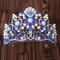 Crystal Rhinestone Royal Wedding Tiara Crown Prom Pageant Headband Headpiece