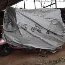 Funda impermeable antipolvo resistente al agua para bicicleta híbrida de montaña de carretera Vintage