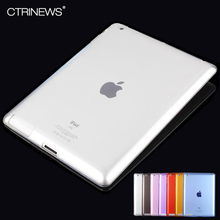 CTRINEWS For iPad 4 3 2 Case Ultra-thin Soft TPU Silicon Protective Skin Case for Apple iPad 2 3 4 Clear Transparent TPU Cover(China)