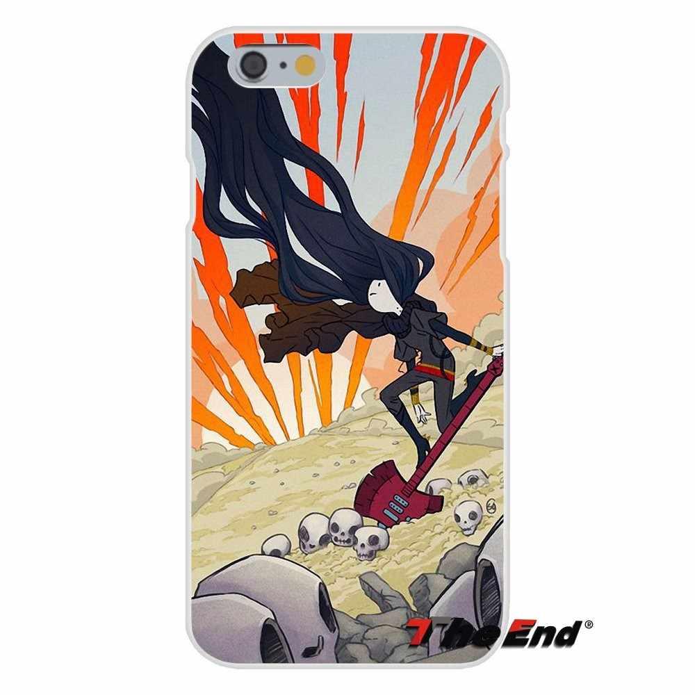 Приключения Время Финн и Джейк Marceline Мягкий силиконовый чехол для iPhone X 4 4S 5 5S 5C SE 6 6 S 7 8 плюс Galaxy Grand core Prime Alpha